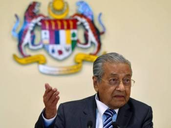 Tun Dr Mahathir Mohamad. - Foto Bernama