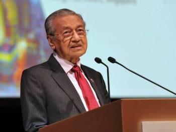 Perdana Menteri Tun Dr Mahathir Mohamad. - Foto Bernama