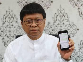 Asmuni mendedahkan pernah ditawarkan jawatan Menteri Besar Perak oleh Umno, hari ini.