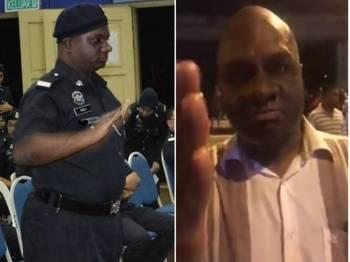 Polis menafikan lelaki tersebut merupakan anggota polis, sebaliknya adalah bekas polis sukarelawan