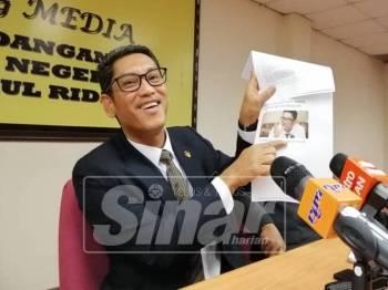 Ahmad Faizal mengulas isu berkenaan pada sidang media, hari ini.
