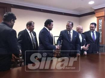 M. Saravanan ditemui ketika sidang media di bangunan Parlimen, hari ini.