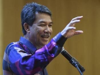 Datuk Seri Mohamad Hasan - Foto Bernama