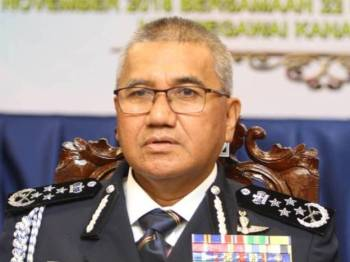 Ketua Polis Negara, Tan Sri Mohamad Fuzi Harun
