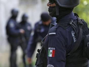 Serangan terbaharu ke atas pasukan keselamatan Mexico dalam tempoh beberapa bulan. - Foto devdiscourse.com