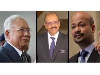 Najib, Ali Hamsa, Arul Kanda