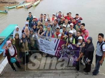 Misi rombongan ke Song, Bintulu, Sarawak.