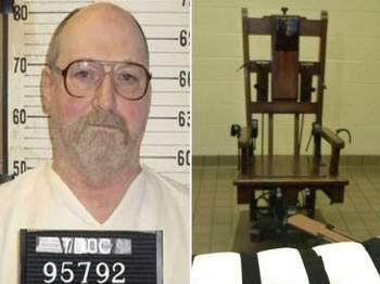 Miller menjadi tahanan kedua di Tennessee dihukum mati menggunakan kerusi elektrik.