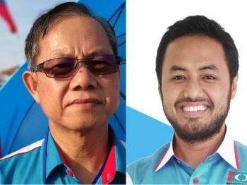 Boon Chye (kiri) dan Farhash.