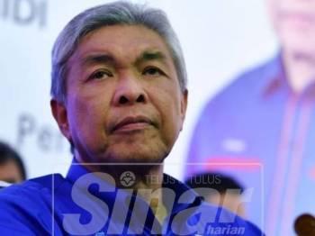 Datuk Seri Dr Ahmad Zahid Hamidi