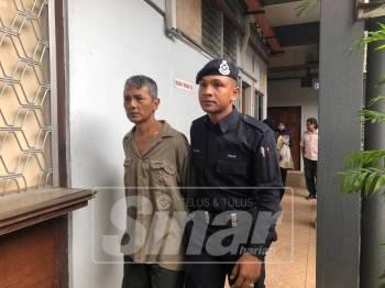 Mazlisham dikenakan hukuman penjara lapan tahun dan tiga sebatan di Mahkamah Sesyen di sini.