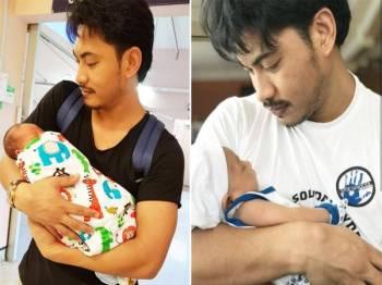 Putra Amaris bersama anak - Foto Instagram