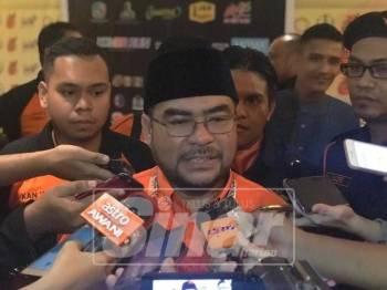 Mujahid ketika ditemui media selepas sesi penggulungan Konvensyen Nasional Amanah 2018, hari ini .
