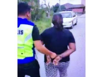 Video penahanan wanita yang tersebar juga tiada kaitkan dengan kes yang tular itu.