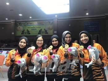 Pasukan wanita catur negara berjaya meraih dua emas sempena AUG 2018 di Myanmar.