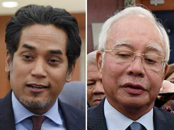 Khairy dan Najib