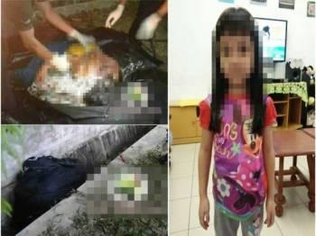 Beberapa gambar mayat yang dicampakkan ke dalam longkang di Taman Gemas Jaya tular sejak semalam dan telah dikongsi oleh ribuan pengguna laman sosial selain gambar kanak-kanak yang tular dikatakan menjadi mangsa pembunuhan tersebut.