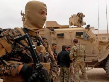 Kira-kira 2,000 tentera AS berada di Syria.- Foto AFP