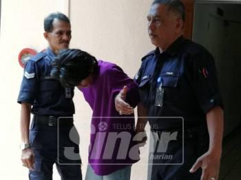 Fairul Rizuan dipenjara 36 bulan kerana pecah masuk dan curi.