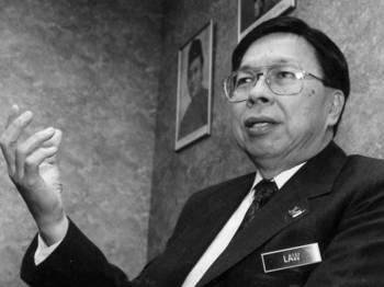Bekas Menteri Sains, Teknologi dan Alam Sekitar, Tan Sri Law Hieng Ding. Foto: sumber The Star