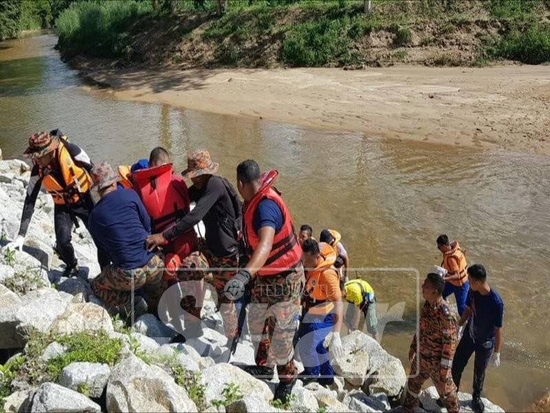 Mangsa ditemui pasukan penyelamat pada jam 10.35 pagi tadi.