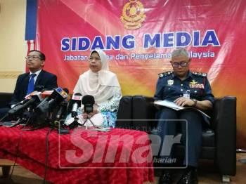 Zuraida ditemui pada sidang media selepas Majlis Penganugerahan Wira Merah di sini hari ini.
