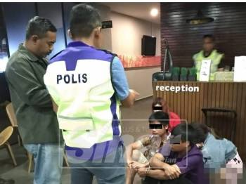 Antara yang ditahan dalam Op Ambang Tahun Baharu 2019 Daerah Kuala Muda.