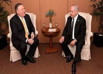 Mike Pompeo (kiri) dan Benjamin Netanyahu. - Foto Avi Ohayon/GPO