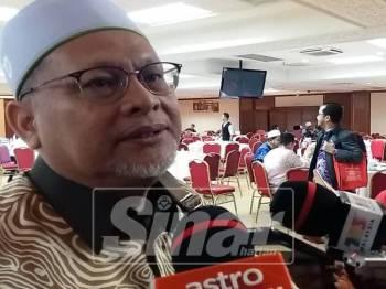 Mohd Amar Abdullah ketika ditemui media di Kompleks Kota Darul Naim.