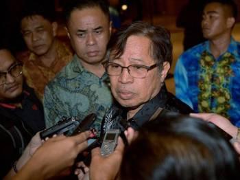 Datuk Patinggi Abang Johari Tun Openg. - Foto Bernama