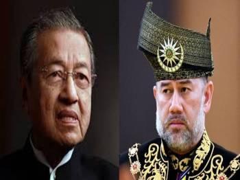 Dr Mahathir,   Sultan Muhammad V.