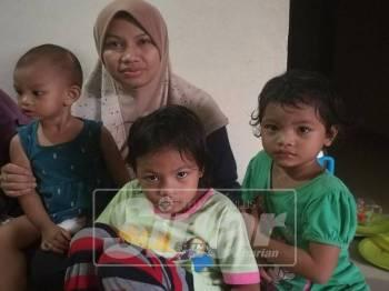 Nazihah dan anak-anak