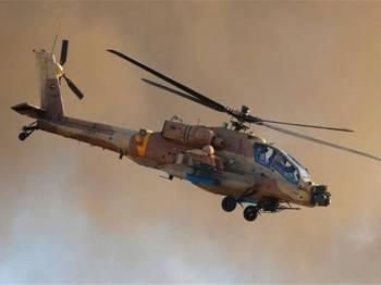 Helikopter tempur Israel lancar serangan ke atas pos Hamas di Genting Gaza