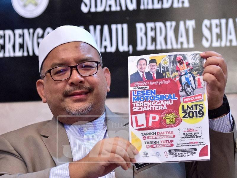 Permohonan Lesen Motosikal Percuma Terengganu Sejahtera 2020 Online Lmts Spa