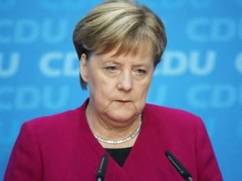 Data peribadi Canselor Angela Merkel turut digodam. - Foto New York Post