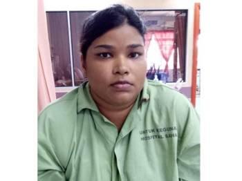 Hospital Melaka mencari waris pesakit bernama, Kanagavali.