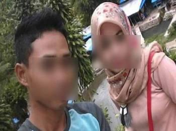Mayat Hasyim dan kekasihnya, Devi ditemui dengan kesan peluru di sebuah hotel di Kota Kisaran, kelmarin.