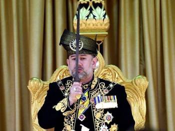Sultan Muhammad V - Foto Bernama