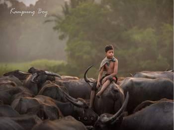 Foto:Facebook Syukor Khamis - Kampung Boy.