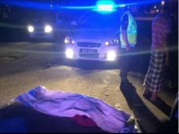 Mayat mangsa dibawa ke Hospital Tanah Merah untuk bedah siasat.