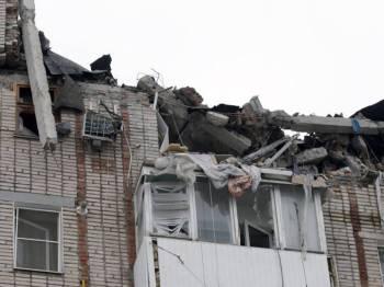 Letupan gas di bangunan apartmen di Rusia meragut satu naywa. - FOTO RFE/RL