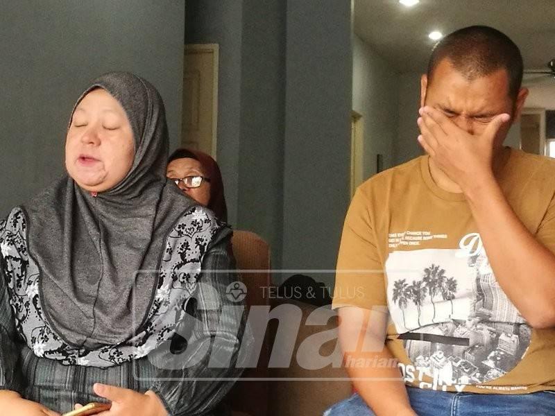 Adib (kanan) sebak menceritakan pengalaman 30 harinya ditahan di Thailand.