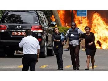 Letupan di sebuah hotel di Nairobi