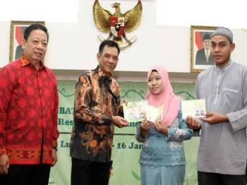 Foto rasmi Twitter, Kementerian Luar Negeri Republik Indonesia.