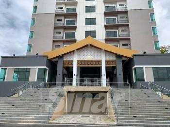 Bangunan di Kompleks Darul Naim akan beroperasi Ahad ini.