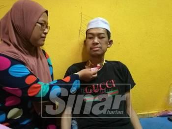 Abdul Halim turut berdepan masalah pernafasan sempit sekaligus memaksa lehernya ditebuk.