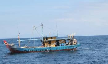 Bot yang ditahan Maritim.