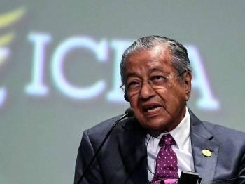 Tun Dr Mahathir Mohamad - Foto Bernama