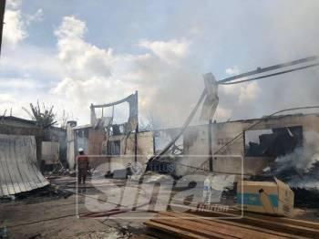 Kebakaran melibatkan kerugian lebih RM1 juta.