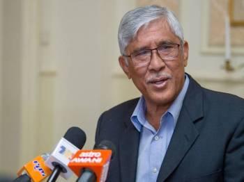 Abu Kassim pada sidang media dengan wartawan Malaysia mengenai Persidangan Agung dan Mesyuarat Tahunan ke-10 Pertubuhan Pihak Berkuasa Anti Rasuah Antarabangsa (IAACA) hari ini. - Foto Bernama